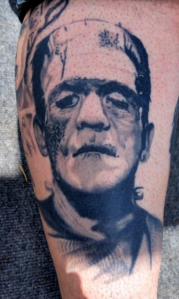 Frankenstein Healed 4 years